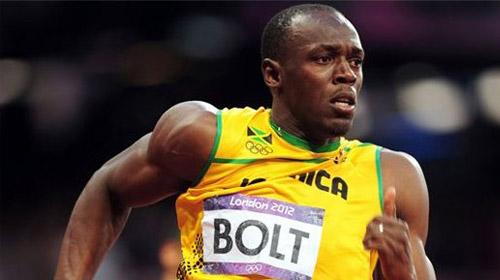 Usain Bolt'u bakın kim geçti!