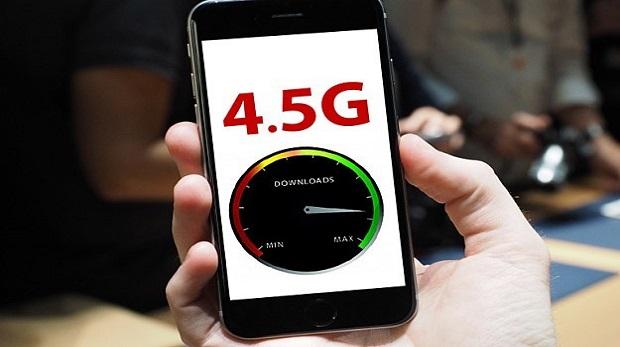 Mobil cihazlarda '4.5G' yazacak