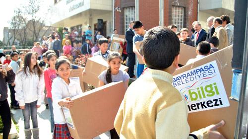 Bilgi Merkezi Öğrencilerinden Van'a Yardım