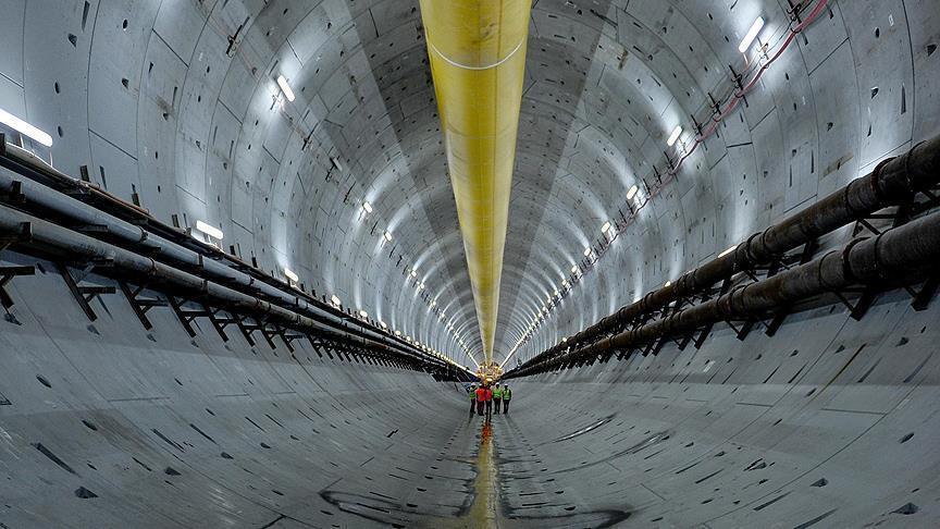 '3 Katlı Büyük İstanbul Tünel Projesi' planları onaylandı