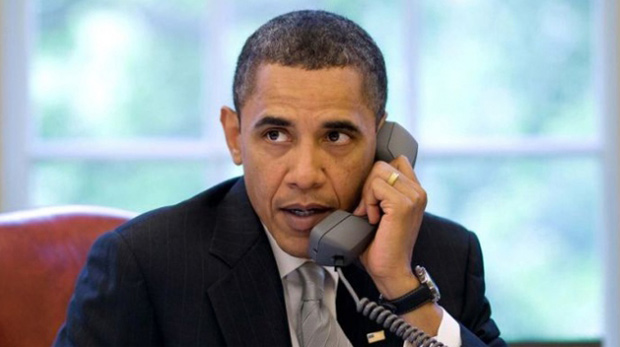Obama'dan Davutoğlu'na tebrik telefonu