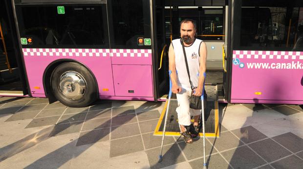 Y. Lisanslı, engelli kadın tır sürücüsü aranıyor