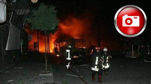 G.Antep'te bombalı saldırı, 8 ölü 64 yaralı
