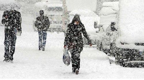 6 İlde Okullara Kar Tatili