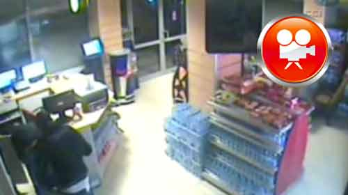 Hırsız Hırsızı Soydu Kameralar Kaydetti