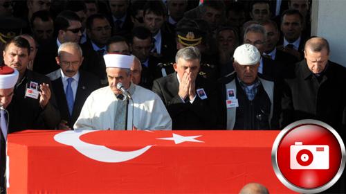 Devletin Zirvesi Şehit Cenazelerinde Buluştu