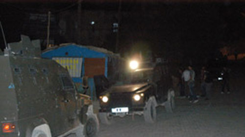 Yüksekova'da Güvenlik Noktasına Taciz Ateşi