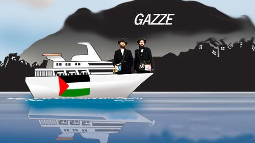 Gazze'ye Şimdi de Yahudi Gemisi…