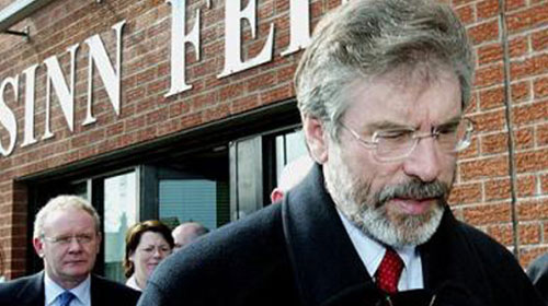 Gerry Adams kimdir?
