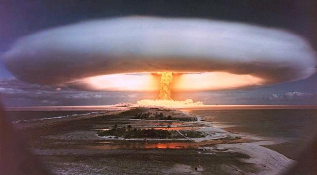 Hidrojen bombası atom bombasından çok daha yıkıcı