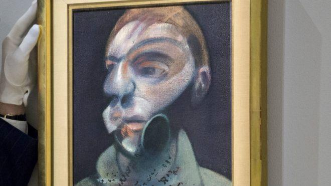 Yeni keşfedilen Bacon portreleri açık artırmada