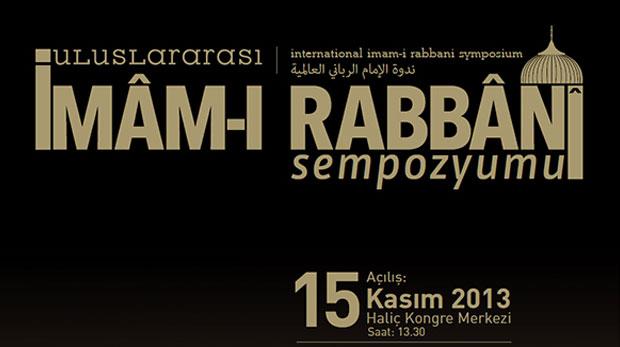 Uluslararası İmâm-ı Rabbânî Sempozyumu yapılacak