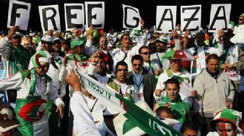 Cezayir'den Filistin'e Destek!