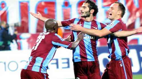 Trabzonspor'un Hedefi Şampiyonlar Ligi