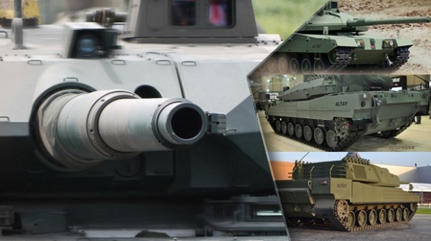 Altay tankı seri üretim aşamasında