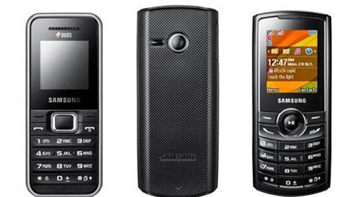 Samsung'dan Ucuz Çift Sim Kartlı Telefonlar