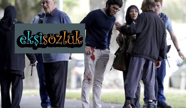 Ekşi Sözlük'te İslam düşmanlığı! Camiye saldırıyı övdüler.
