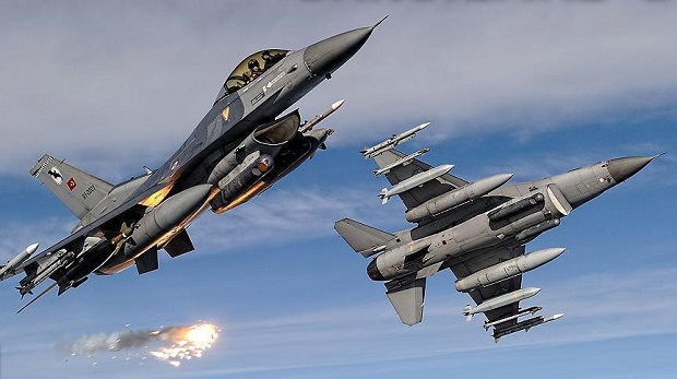 Terör örgütleri PKK ve DAİŞ hedefleri vuruldu