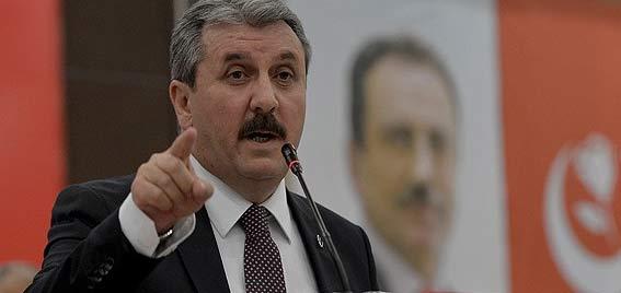 Mustafa Destici ve beraberindeki heyet serbest bırakıldı