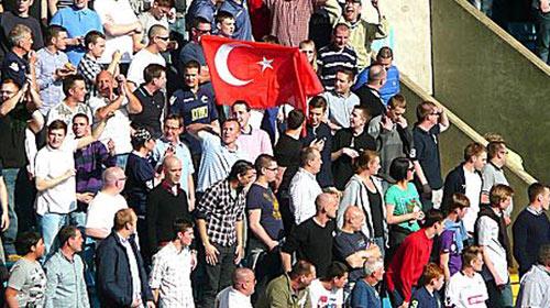 Türk Bayrağı Açan Taraftara 10 Yıl Ceza