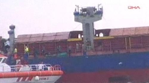 İstanbul Boğazı'nda Gemi Batıyor!