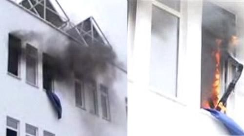 Yangın Elektrik Kontağından Çıkmış