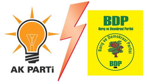 AKP ve BDP'liler arasında seçim kavgası