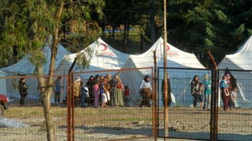 Suriye'den Türkiye Sınırına Akın
