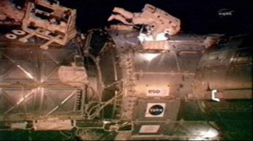 Endeavor Astronotları Uzay Yürüyüşünde