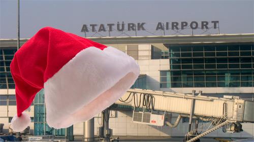 """Havalimanı'nda """"İyi Noeller Krizi"""""""