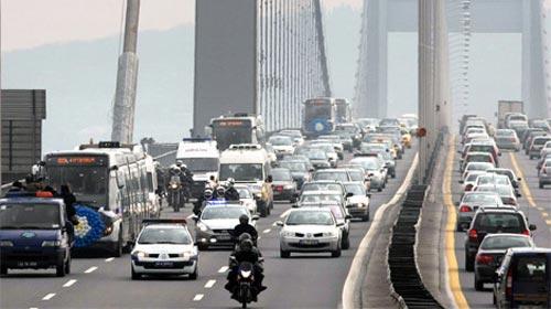 Motorlu Taşıt Sayısı 15 Milyona Dayandı