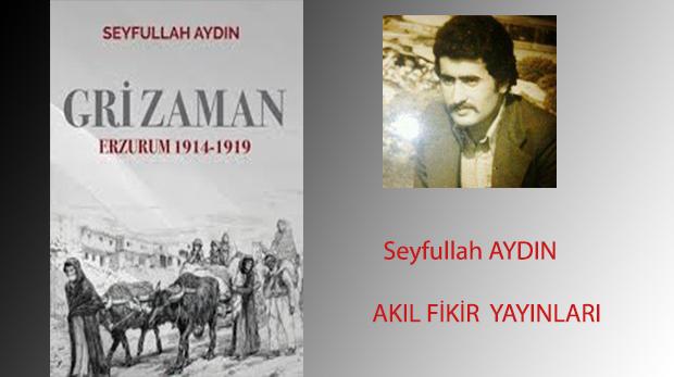 """Seyfullah Aydın'dan """"Gri Zaman"""""""