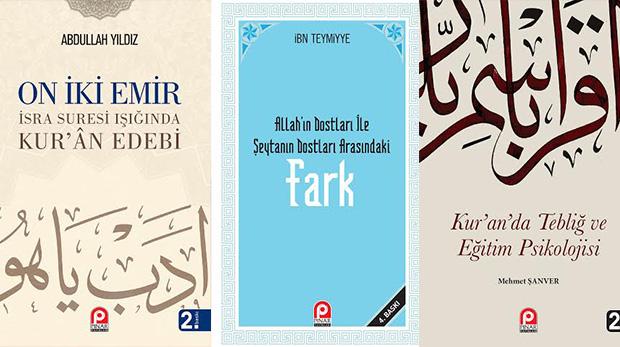 Pınar Yayınları'ndan üç kitap