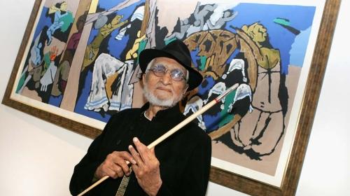 Hindistan Picasso'sunu Yitirdi