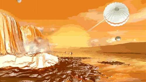 Titan'da Nil'e benzeyen nehir bulundu