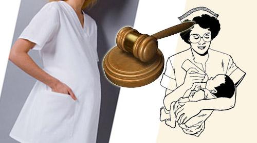 Hamile Hemşirenin Hukuk Zaferi