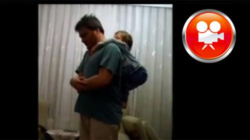 'Baba Sırtında Namaz' Videosu Rekor Kırıyor
