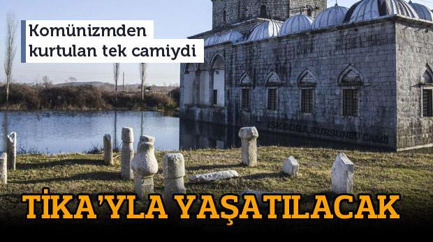 Sular altındaki mahzun Kurşunlu Camii yaşatılacak
