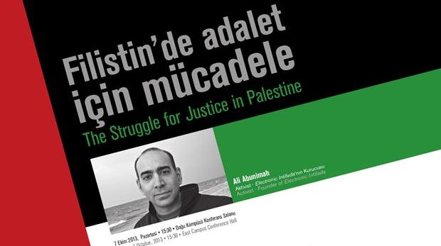 Filistin konusunda Dünyaca ünlü aktivist Şehir'de