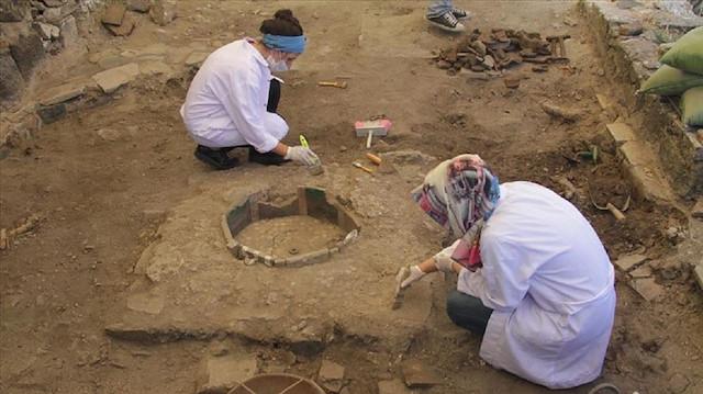 Diyarbakır'ın kalbinde arkeolojik kazı