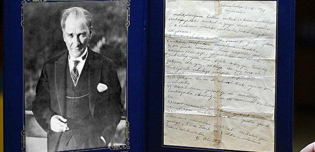 İşte Atatürk'ün kayboldu denilen vasiyeti