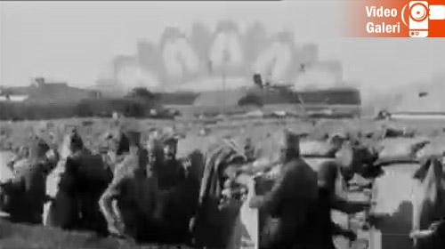İlk kez yayınlanan Çanakkale videosu