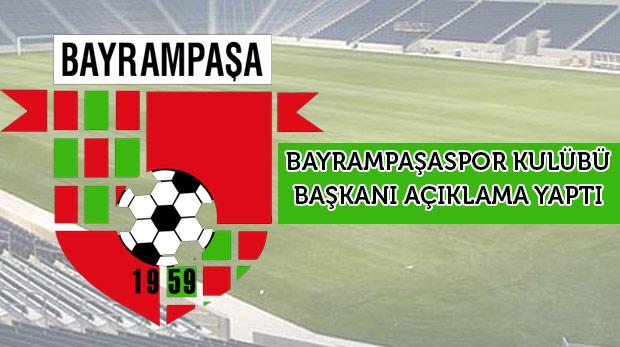 """""""Bayrampaşaspor'u satma gibi bir düşüncemiz yok"""""""