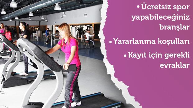 İstanbul'daki ücretsiz spor merkezleri