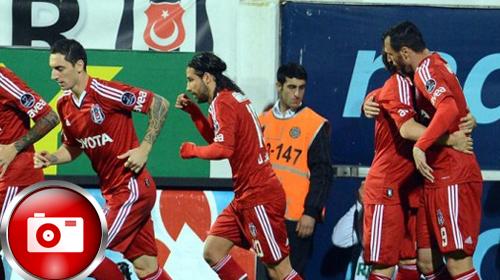Beşiktaş'a tek devre yetti: 3-0
