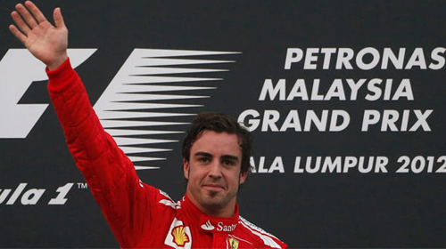 Malezya Grand Prix'sini Alonso Kazandı