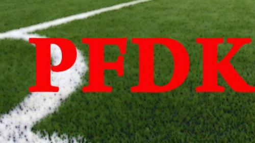 PFDK'dan ceza yağmuru!