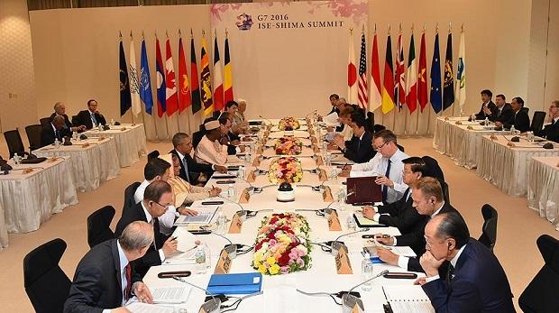 G7 zirvesinde mültecilere yardım sözü