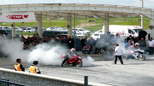 Türkiye motosiklet Şampiyonası başladı