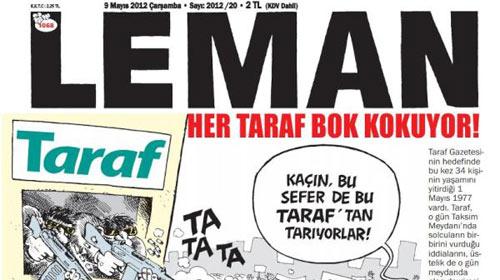 Leman'ın kapağı Taraf'ı çok kızdıracak